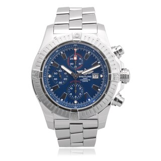 Breitling Men's Stainless Steel Super Avenger Chronograph Watch
