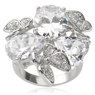 Journee Collection Cubic Zirconia Butterfly Fashion Ring