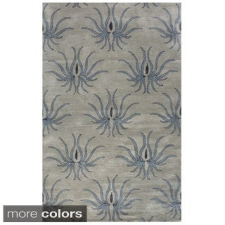 Hand-tufted Madison Wool Area Rug (5' x 8')