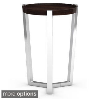 Made to Order Cirque Round Maple Chairside Table