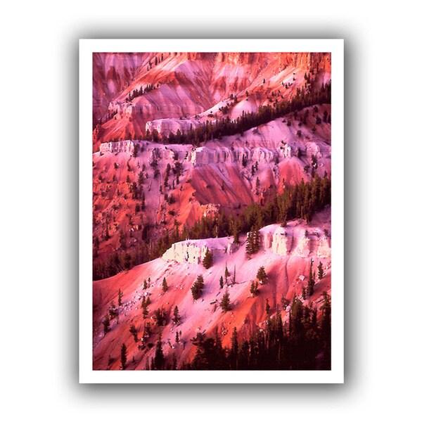 Dean Uhlinger 'Cedar Breaks Twilight' Unwrapped Canvas
