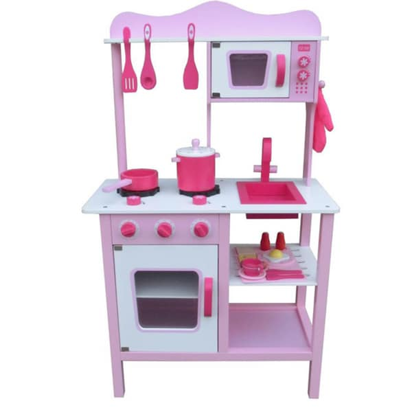 Merske Upright Wooden Play Kitchen