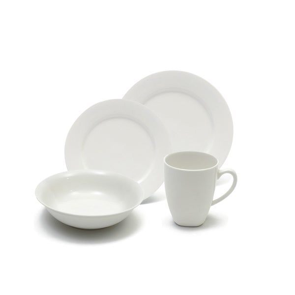 Maxwell and Williams White Basics Soho 16-piece Dinner Set