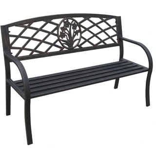 Daffodil Metal Park Bench