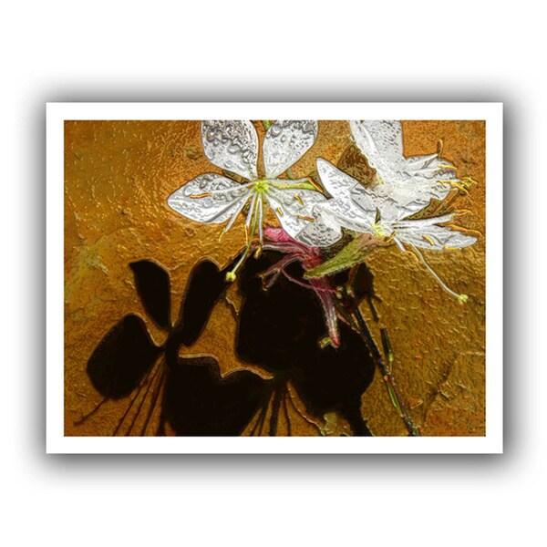 Dean Uhlinger 'Spring Shadows' Unwrapped Canvas