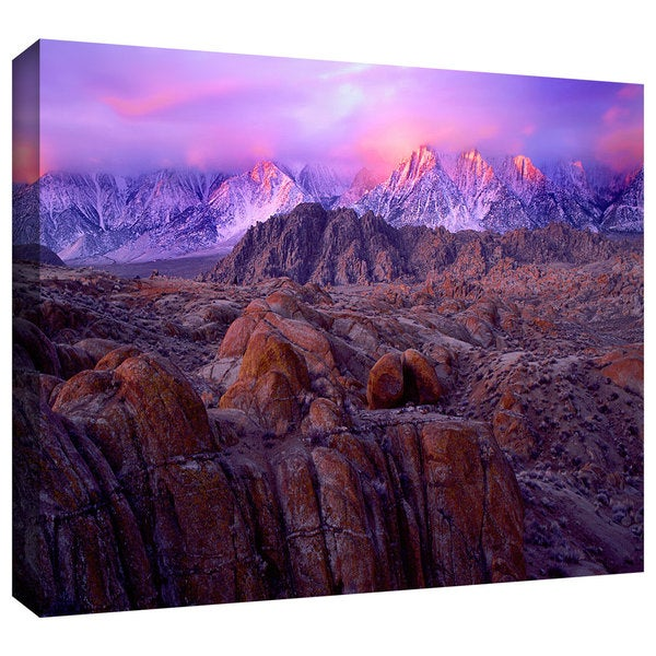 Dean Uhlinger 'Eastern Sierra Sunrise' Gallery-wrapped Canvas - Multi 13810230