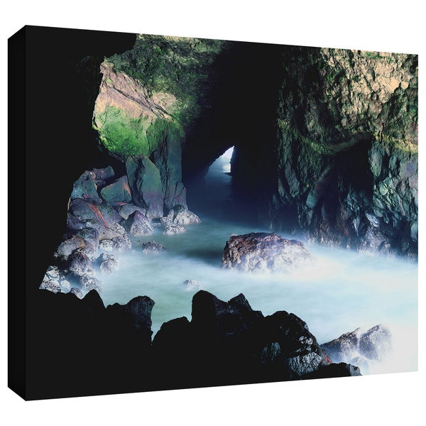 Dean Uhlinger 'Sea Lion Cave' Gallery-wrapped Canvas