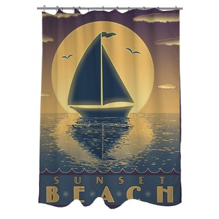 Thumbprintz Nautical IV Shower Curtain