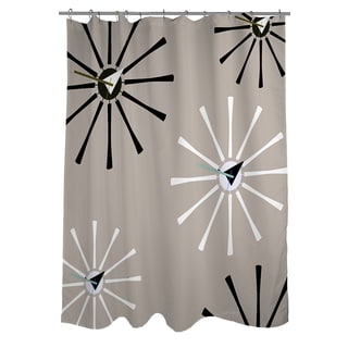 Thumbprintz Fifties Patterns IV Shower Curtain