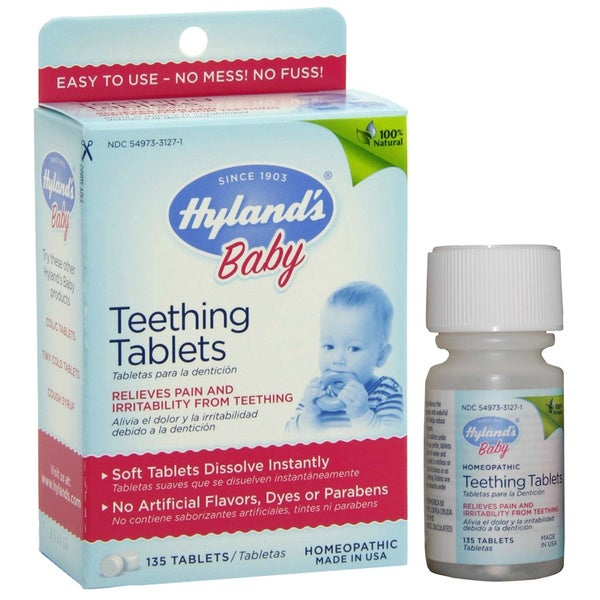 Hyland's Baby Teething Tablets - 16553108 - Overstock.com ...