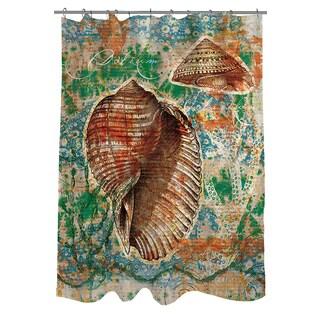Thumbprintz Coastal Motif II Shower Curtain