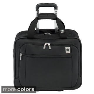 Delsey Helium Sky 17-inch Rolling Carry-on Tote Bag