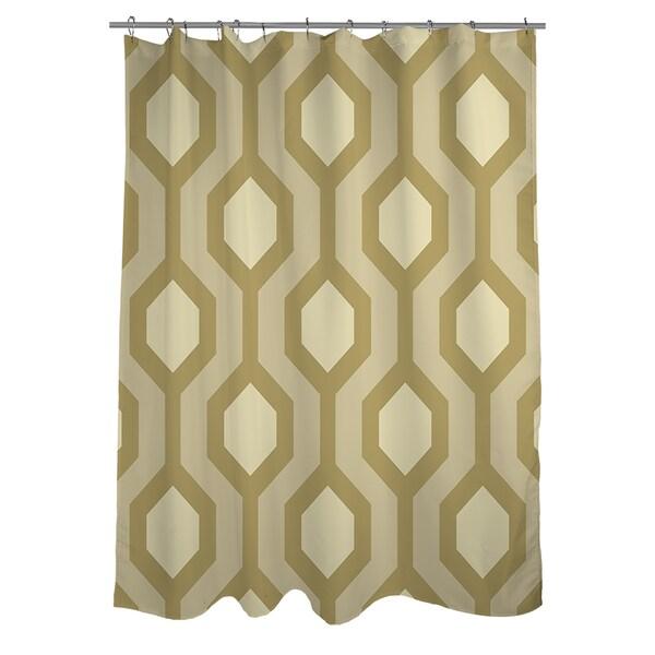 Thumbprintz Carpet Cream Shower Curtain