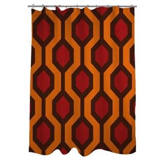 Thumbprintz Carpet Red Shower Curtain