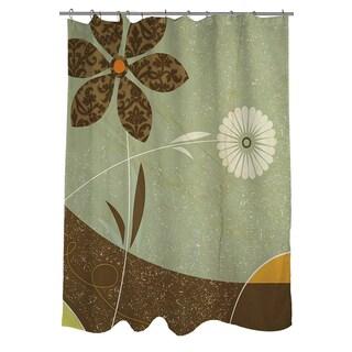 Thumbprintz Graphic Garden Sadie Shower Curtain