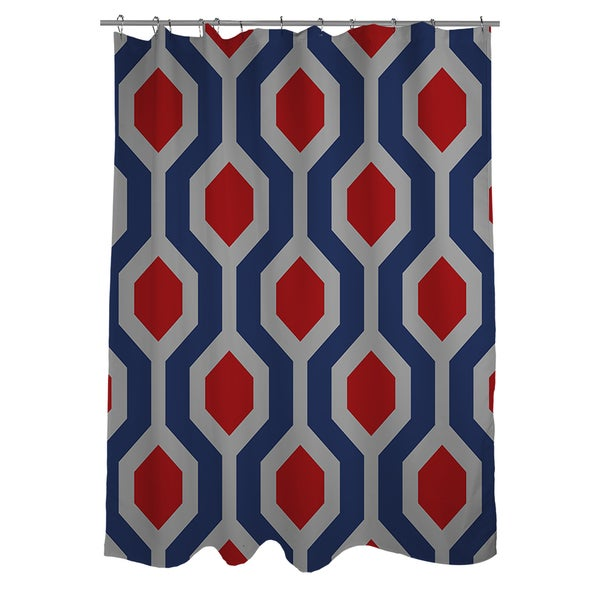 Thumbprintz Carpet Grey Shower Curtain