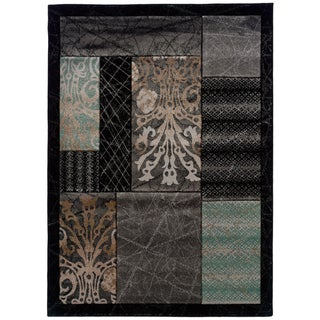 Linon Transitional Patchwork Area Rug
