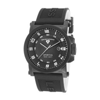 Swiss Legend Men's Sportiva SL-40030-BB-01-WA Black Watch
