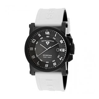 Swiss Legend Men's Sportiva SL-40030-BB-01-WAS Black Watch