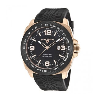 Swiss Legend Men's Sprinter SL-21045-RG-01-BB Black Watch
