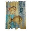 Thumbprintz Caribbean Cove V Shower Curtain