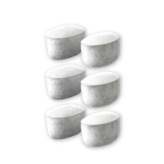 Calphalon Replacement Charcoal Water Filters for Calphalon Coffee Machines (Set of 6)