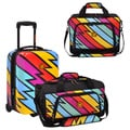 Loudmouth Captain Thunderbolt 3-piece Carry-on Luggage Set