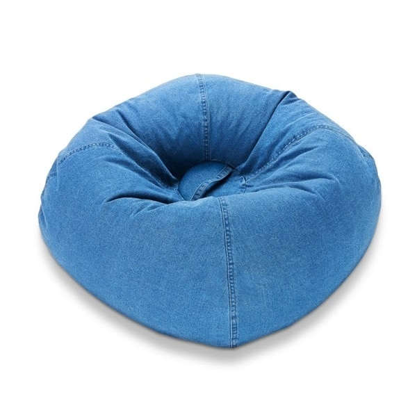 Ace Bayou 98-inch Denim Bean Bag Chair