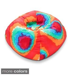 98-inch Ace Bayou Tye Dye Polyester Bean Bag