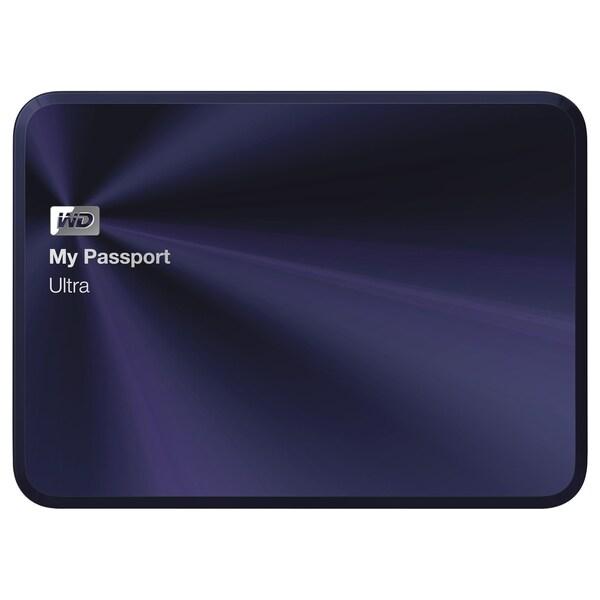 WD My Passport Ultra Metal Edition 1TB Blue-Black premium storage wit