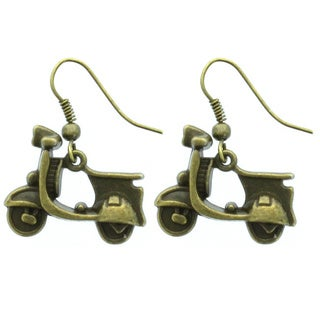 Kate Marie Motorcycle Design Fashion Earrings