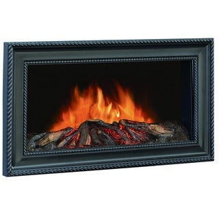 CorLiving FPE-204-F Wall Mounted Framed Electric Fireplace