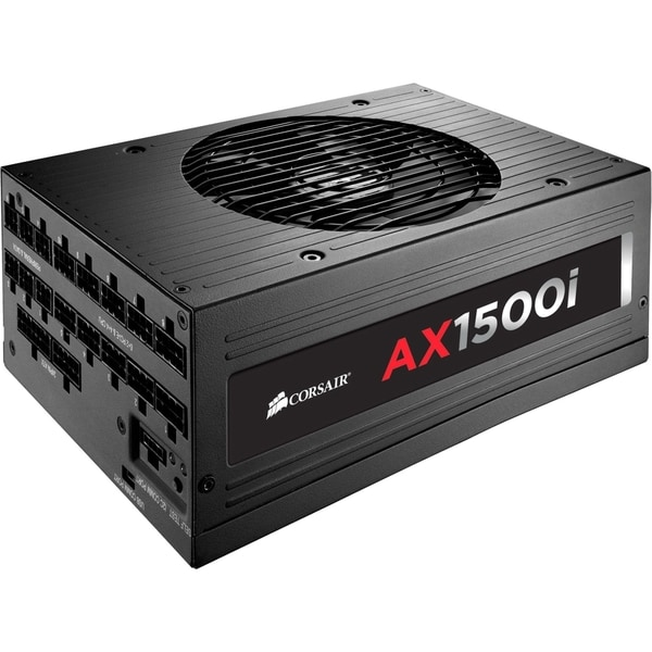 Corsair AX1500i Digital ATX Power Supply - 1500 Watt Fully-Modular PS