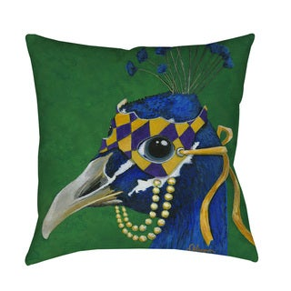 Thumbprintz 'You Silly Bird Tina' Indoor/ outdoor Throw Pillow