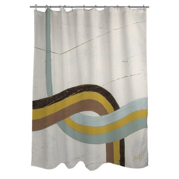 Thumbprintz Tangle IX Shower Curtain