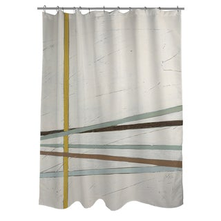 Thumbprintz Tangle I Shower Curtain