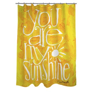 Thumbprintz You Are My Sunshine Shower Curtain