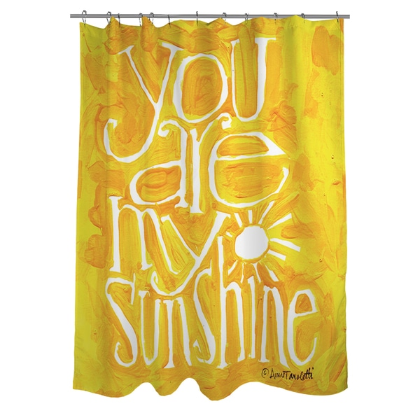 Thumbprintz You Are My Sunshine Shower Curtain (As Is Item)