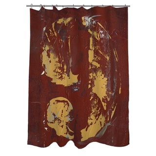 Thumbprintz Vintage Number 9 Shower Curtain