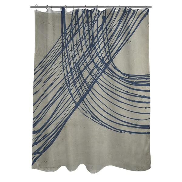 Thumbprintz Echo Location III Shower Curtain