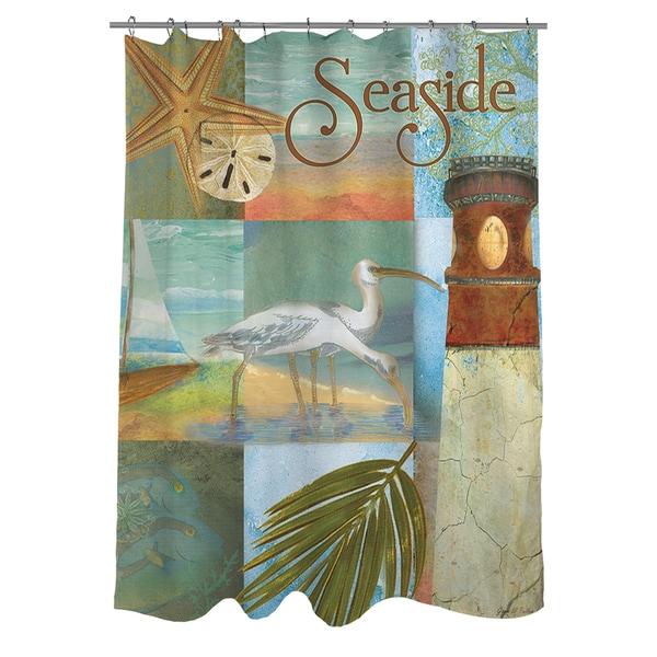 thumbprintz beach memories a shower curtain 16553692