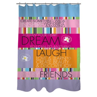 Thumbprintz Create Something Wild Shower Curtain