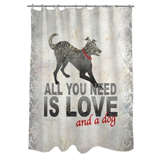 Thumbprintz All You Need Shower Curtain