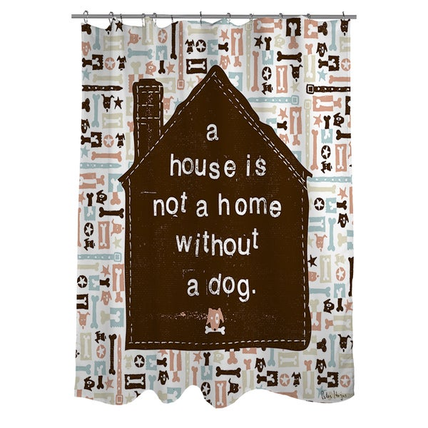 Thumbprintz A House Shower Curtain