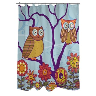 Thumbprintz Hootie Hoo Shower Curtain
