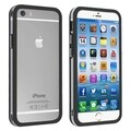 BasAcc with Aluminum Button TPU Gel Bumper Frame for Apple iPhone 6 4.7-inch