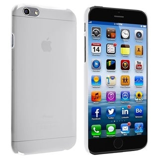 BasAcc Clear Frosted Ultra Slim Fit Case Cover for Apple iPhone 6 4.7-inch