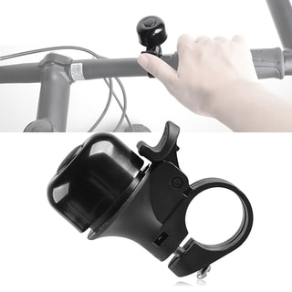 INSTEN Black Easy-to-install Bicycle Handlebar Mount Mini Bell