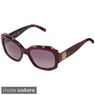 Tory Burch Women's 'TY7070' Plastic Rectangle Sunglasses