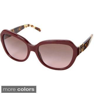 Tory Burch Women's 'TY7071' Plastic Cat-eye Sunglasses